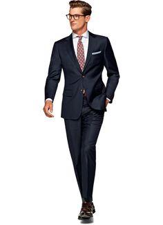 Suit Blue Plain Napoli P4367i | Suitsupply Online Store