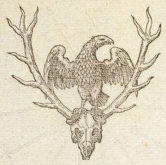 Pictura of Paradin, Claude: Devises heroïques (1557): Ardua deturbans, vis animosa quatit.