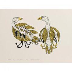 Agnes Nanogak - artwork prices, pictures and values. Art market estimated value about Agnes Nanogak works of art. Inuit Art, Aboriginal Art, Art Market, Owls, Nativity, Nest, Auction, Birds, Artwork