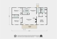Explore The Layout Of Sycamore Floor Plan By Madison Homebuilders A Custom Home Builder
