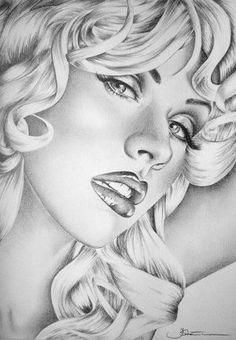 My favourite Christina Aguilera by Ileana-S follow me for more celebes art.