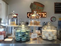 Macarons from Crisp Bake Shop (Sonoma, CA)