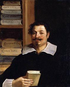 Portrait of Francesco Righetti by GUERCINO #art