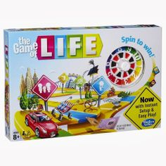 ***Giveaway*** Enter to win THE GAME OF LIFE! Ends 2/19