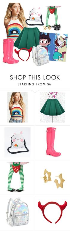 """""""Star Butterfly"""" by area2002 on Polyvore featuring Forever 21, Hunter and Bari Lynn"""