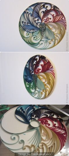Pattern for quilling paper style - Best Paper Quilling Designs Neli Quilling, Paper Quilling Patterns, Paper Quilling Jewelry, Origami And Quilling, Quilled Paper Art, Quilling Paper Craft, Paper Beads, Paper Crafts, Quilling Tutorial