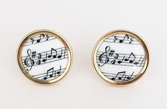 Music Drum Kit Gold-tone Cufflinks Money Clip Engraved Gift Set