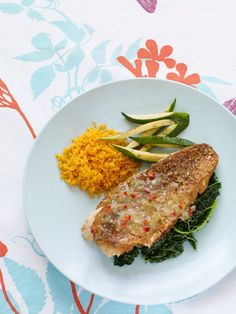 Pan-Seared Snapper with Spicy Lime Butter