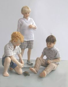 Susan Scogin miniature dolls