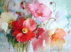 Fabio currently works in three artistic fields: watercolor, oil and acrylics, and his unique and luminous floral watercolors. He is one of our Tutors at EPC