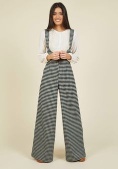 YES!  Nostalgic Knowledge Pants, #ModCloth