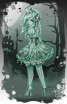 New Ghost Girl by NoFlutter on DeviantArt