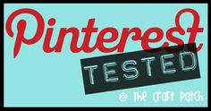 I love this blog - testing out and rating pins.  A must follow for any Pinterest fanatic.