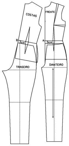 Sewing Stitches For Beginners Sewing Paterns, Sewing Stitches, Dress Sewing Patterns, Clothing Patterns, Fabric Sewing, Blouse Patterns, Fashion Sewing, Diy Fashion, Ideias Fashion
