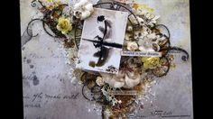 ''Dream'' - Mixed Media Layout Tutorial for 2Crafty Chipboard