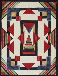 Art Deco Quilt Patterns | last year we studied art deco in the waverley art