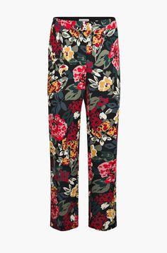 Flowers printed cigarette pants - sonia rykiel