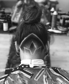 Hair Designs, Flower Designs, Undercut Designs, Shaved Nape, Hair Tattoos, Undercut Hairstyles, Cut Flowers, Barbershop, Hair Beauty