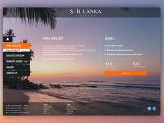Sail Lanka Charter - Offer