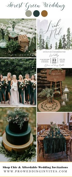 Emerald Wedding Colors, Winter Wedding Colors, Green Purple Wedding, Winter Themed Wedding, Winter Wedding Ideas, Autumn Wedding Decorations, Autum Wedding, Pine Cone Wedding, Emerald Green Weddings