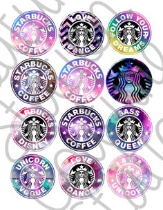 Instant download GALAXY Starbucks Inspired 1 by CoutureStation