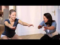 Fit Club - squats | NIVEA Fit Club | On The Go Exercises | Legs
