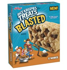 I'm learning all about Rice Krispies Treats Blasted S'mores at @Influenster!