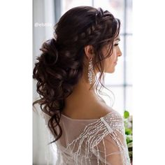 200 Bridal Wedding Hairstyles for Long Hair That Will Inspire ❤ liked on Polyvore featuring accessories and hair accessories