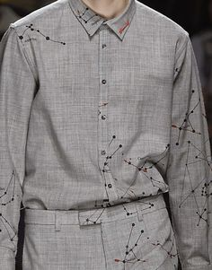 patternprints journal: PRINTS, PATTERNS AND TEXTILE SURFACES FROM MILAN CATWALKS (MENSWEAR F/W 2015/16) / MSGM.