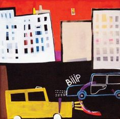 Sabina Twardowska, 'Biiip', 40x40 cm, acrylic/oil on canvas, 2012