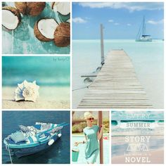 Every summer has it's own story, but mine is a novel. #moodboard #mosaic #collage #inspirationboard #byJeetje♡