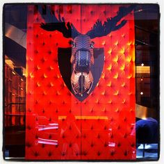 LV moose helmet in Sydney (originally taken by tgoood with Instagram)