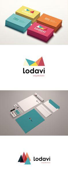 Branding & Identity for Lodavi Arquitectura. By Muak Studio