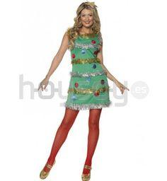 disfraz de rbol de navidad para mujer este disfraz est compuesto por vestido