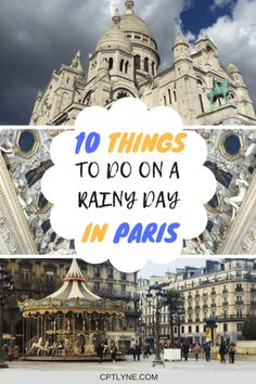 Find out the Best Things To Do On A Rainy Day In Paris, if the weather decide to be moody during your visit to the city of love. From Museums, to visit the catacombs and of course food, who would say no to a macaroon from Laduree! Check out the best Paris sights #Paris #Europe #TravelEurope