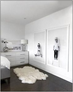 Ways To Embellish Your Kids Bedroom - home - Bedroom Home Bedroom, Kids Bedroom, Master Bedroom, Bedroom Decor, Bedroom Black, Trendy Bedroom, Bedroom Modern, Ikea Bedroom Design, Apartment Bedrooms