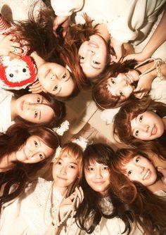 Girls Generation!!!!!! I love them.