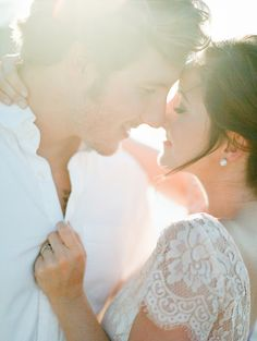 Romantic Emerald Coast Wedding Inspiration |  Lace Blush BHLDN Topper | As Seen on Bajan Wed | The Jacksons Photography