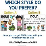 A or B? Now you can get them both in your Grammar Wall! Link in profile.