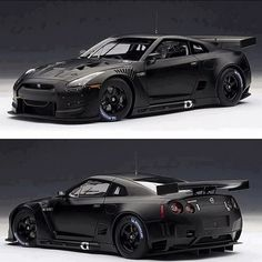 Black Night Nissan GT-R