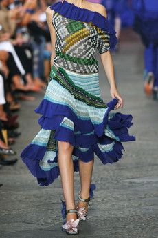 ruffles and blue