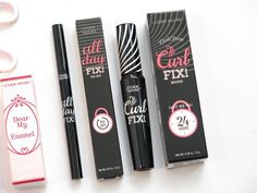 Etude House Haul - All Day Fix eyeliner and Curl Fix mascara