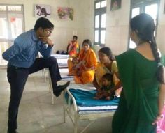 Chhattisgarh IAS officer uncivilised behaviour in hospital