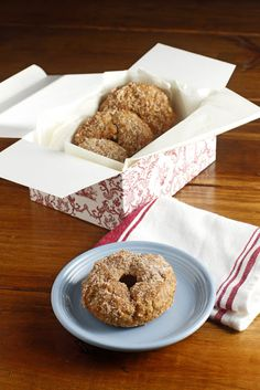spiced apple donuts (baked, not fried!)