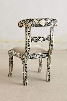 Bone Inlay Chair - anthropologie.com