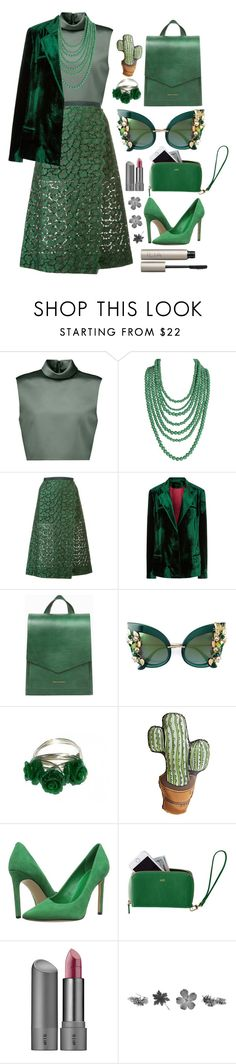 """27.12.16"" by malenafashion27 ❤ liked on Polyvore featuring TIBI, Humble Chic, Sacai, Haider Ackermann, Tammy & Benjamin, Dolce&Gabbana, Silken Favours, Nine West, Mark & Graham and Bite"