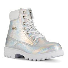 Lugz Empire Hi CR Women's Water Resistant Winter Boots, Size: medium (6.5), Silver