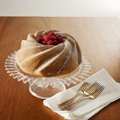 White Chocolate Raspberry Swirl Cake  Nordic Ware
