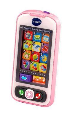 VTech Touch and Swipe Baby Phone - Pink - Online Exclusive, http://www.amazon.com/dp/B00HLAN5GS/ref=cm_sw_r_pi_awdm_yX3lwb08RMPTH/183-9071766-7465659
