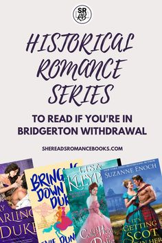 Suffering Bridgerton withdrawal? Check out these binge-worthy historical romance series to read while you wait for the next Bridgerton season! Historical Romance Authors, Best Romance Novels, Good Romance Books, Historical Fiction, Must Read Novels, Best Books To Read, Feminist Books, Book Boyfriends, Book Recommendations